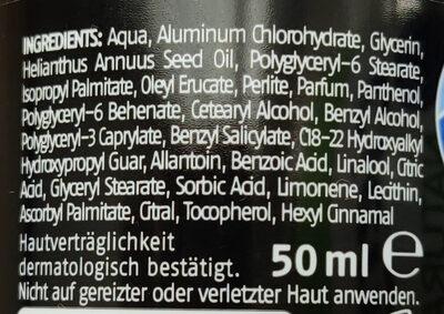 Antitranspirant Dry - Ingredients - de