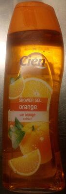 Cien Shower Gel Orange with Orange extract - Product - sv