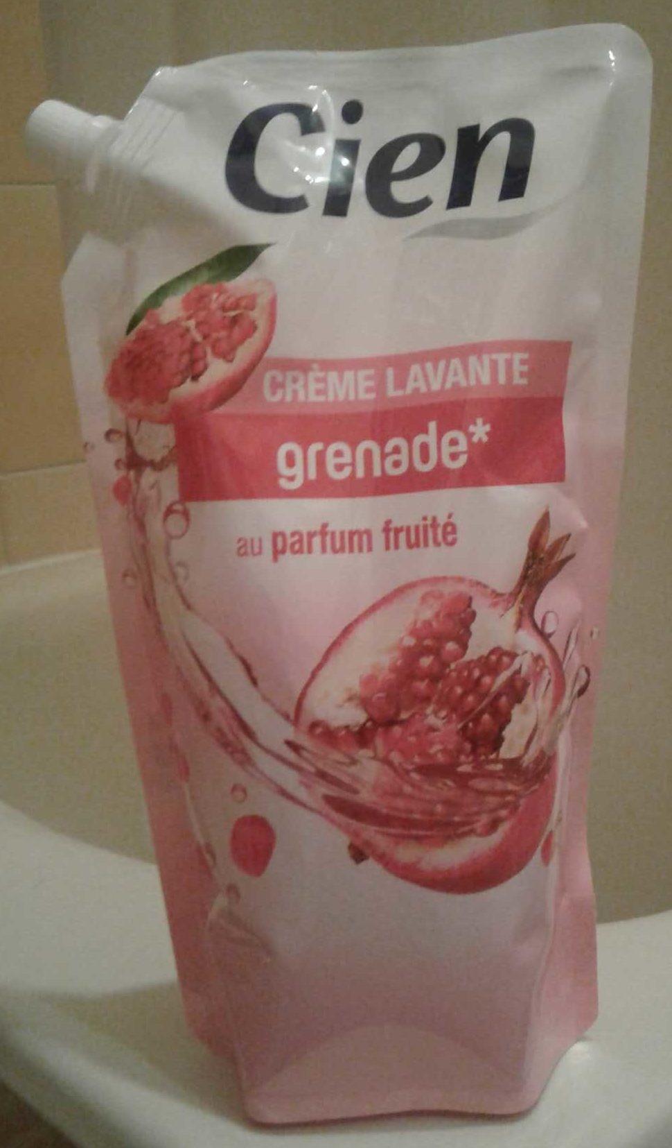 Crème lavante grenade - Produit