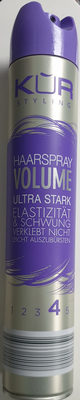 Haarspray volume ultra stark 4 - Product - de