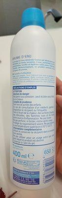 Brume d'eau - Ingredients - en