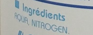 Brume d'eau - Ingrédients - fr