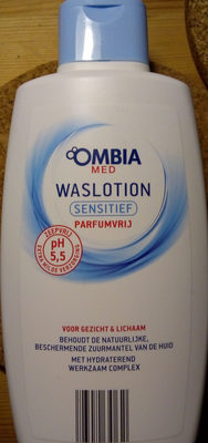 Ombia Med waslotion sensitief - Product - nl