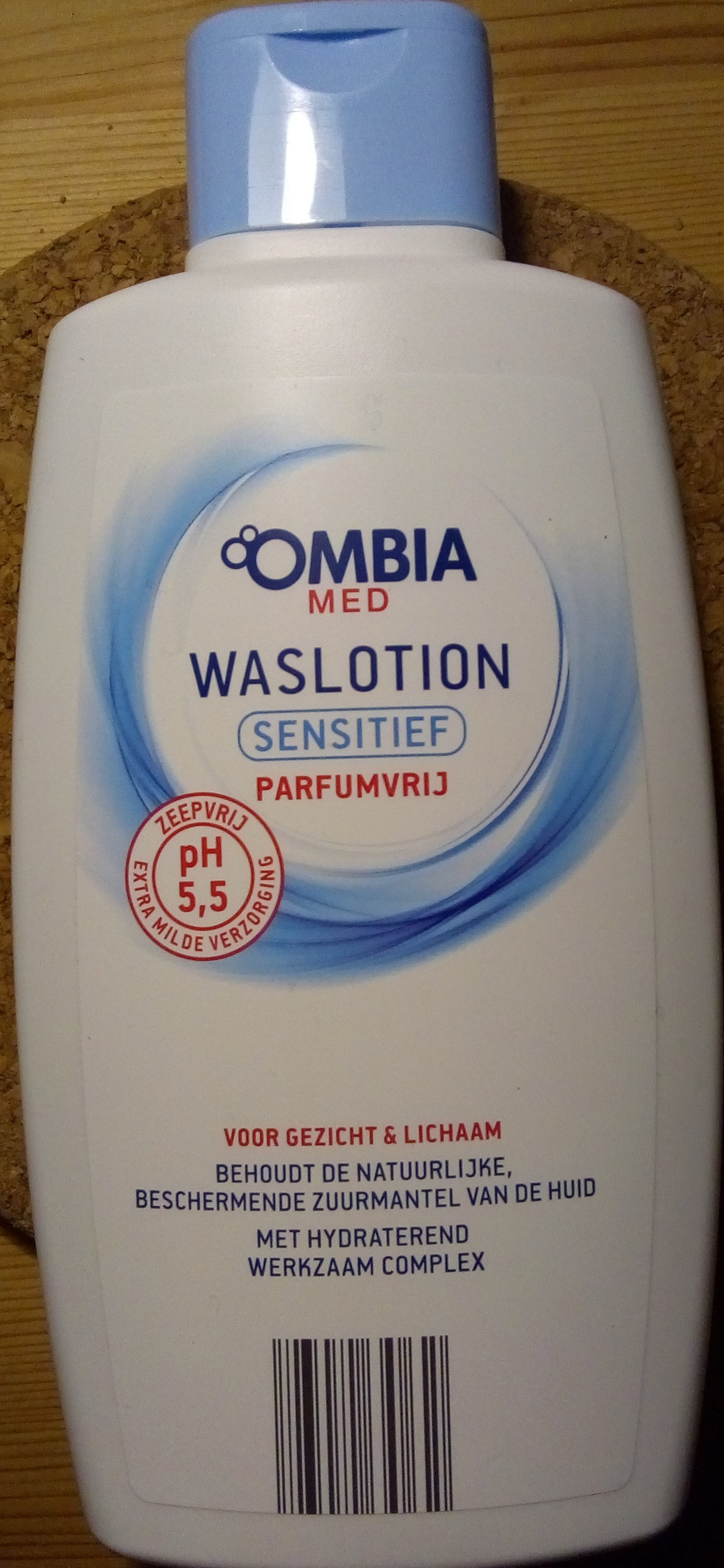 Ombia Med waslotion sensitief - Ingredients - nl