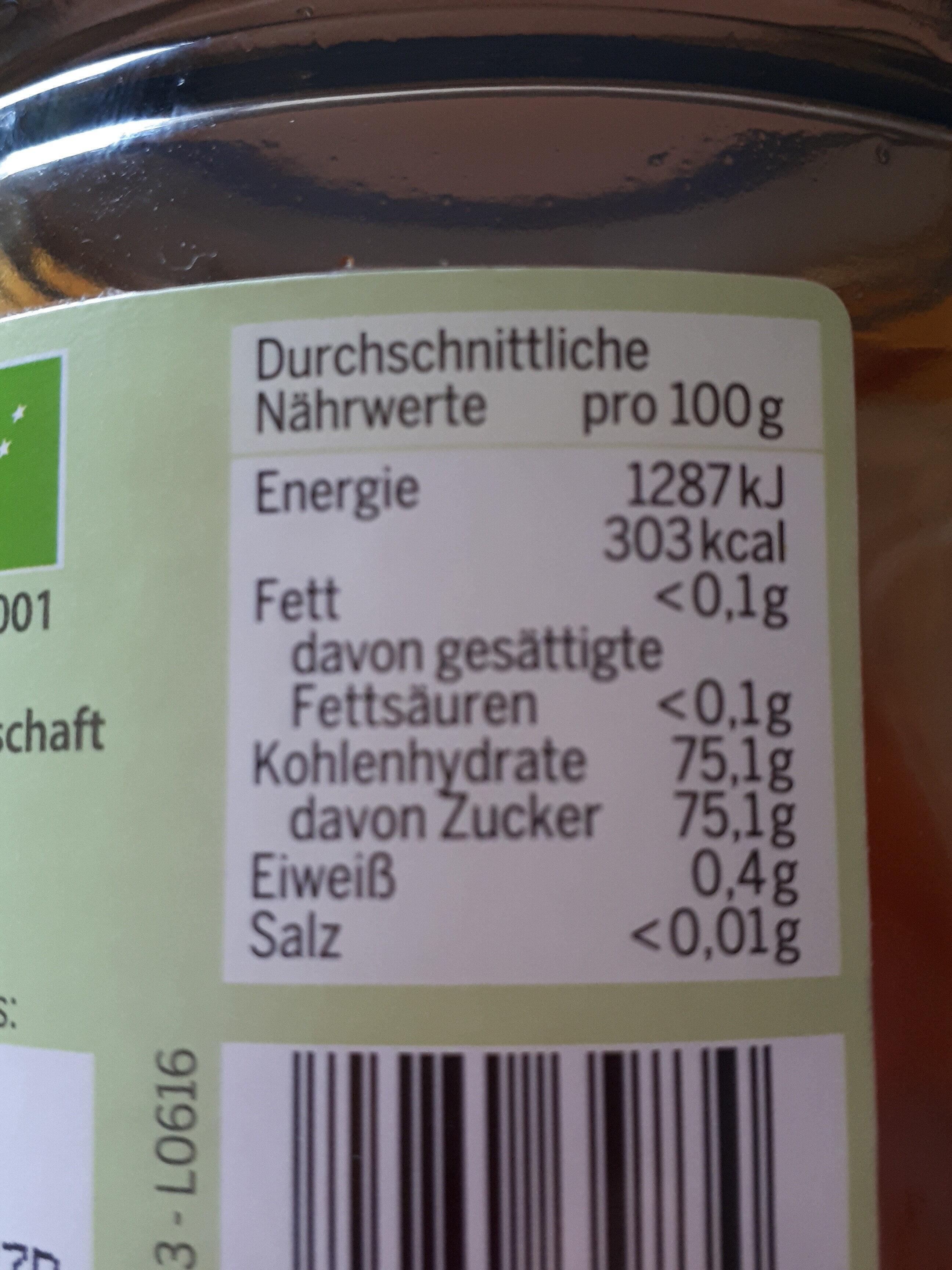 Bio-Blütenhonig flüssig - Product