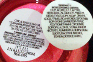 IT'S ALL AN ILLUSIONISM Nail Color - Ingredients - en