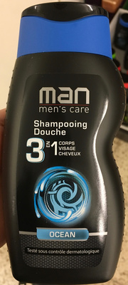 Man men's care Shampooing Douche 3 en 1 Ocean - Product