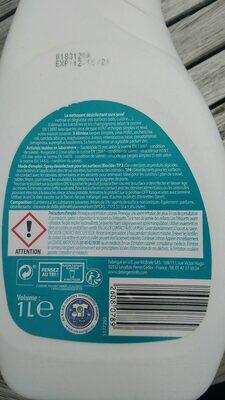Désinfectant sans javel - Product - fr