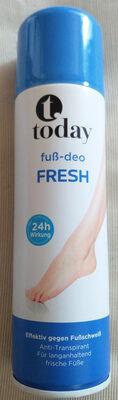 Fuß-Deo fresh - Produit - de