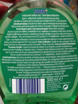 Savon liquide anti bactérien - Produit - fr