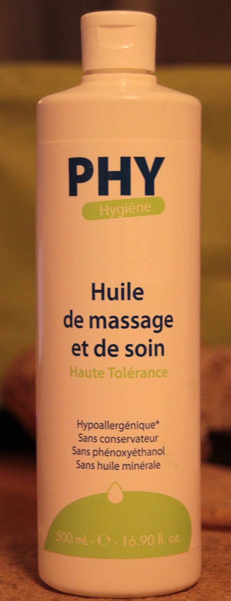 Huile de massage et de soin - Product - fr