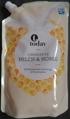 Cremseife Milch & Honig - Продукт - de