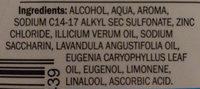 mundwasser Fresh - Ingredients - de