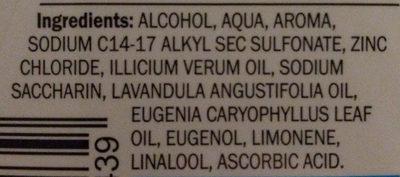 mundwasser Fresh - Ingredients
