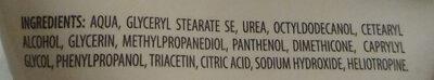 Ombia Med Hand Creme 5% Urea - Ingredients - de