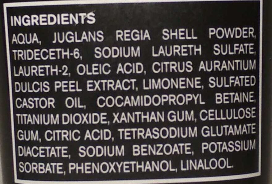 Handwaschpaste - Ingredients