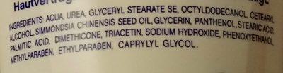 Fußbalsam - Ingredients