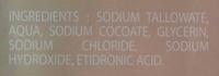 Savon de Marseille - Ingredients