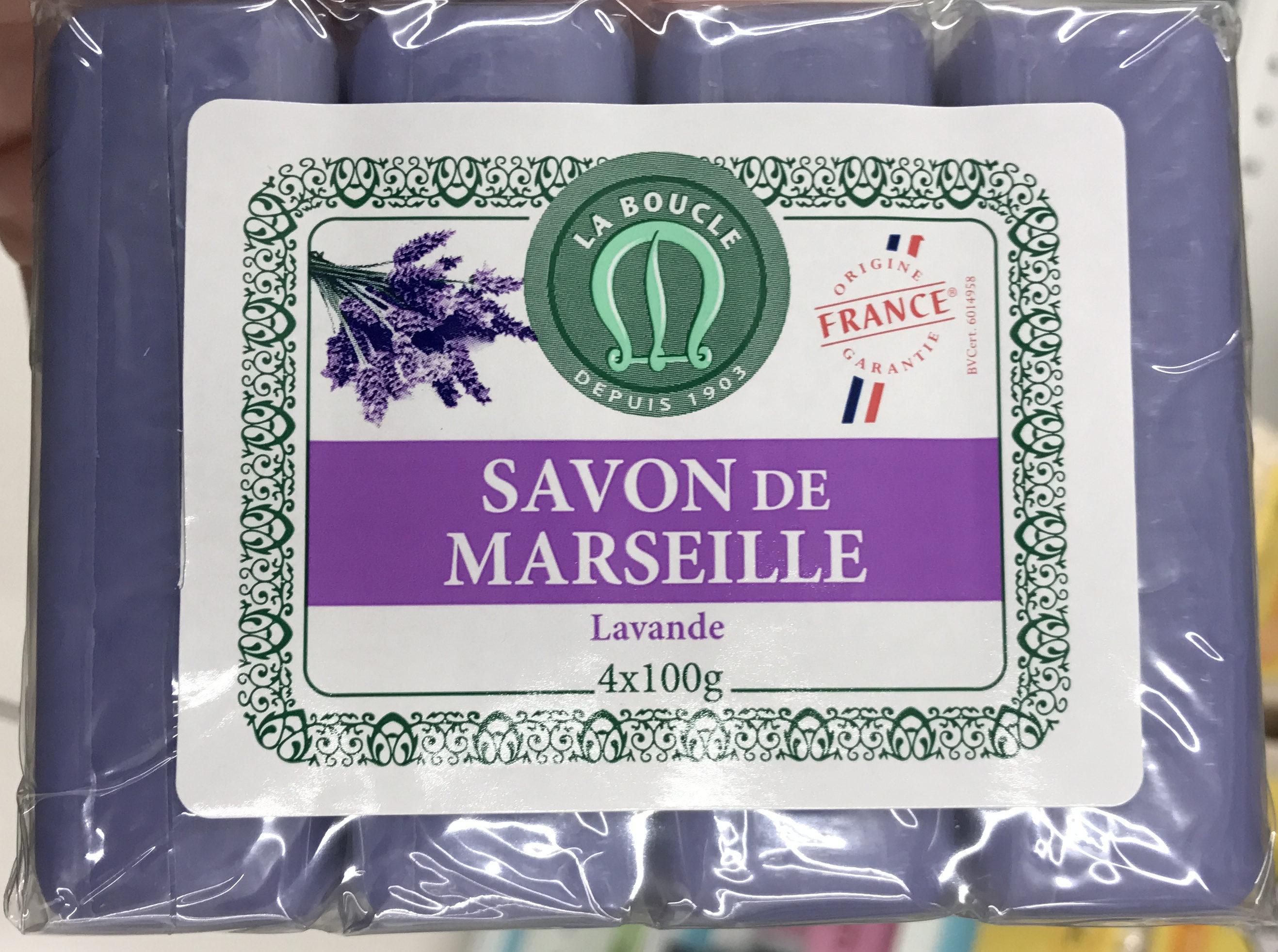 Savon de Marseille Lavande - Produit - fr