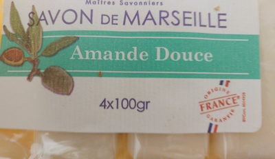 Savon de Marseille Amande Douce - Produit