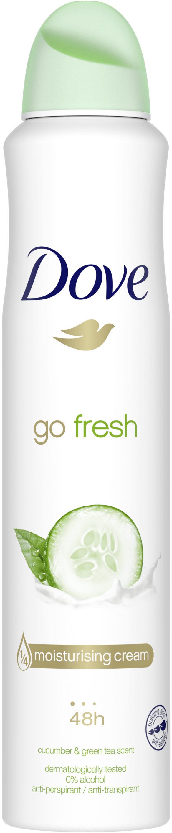 Dove Déodorant Femme Spray Anti Transpirant Go Fresh Concombre - Produit - fr
