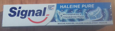Tube dentifrice haleine pure - Product