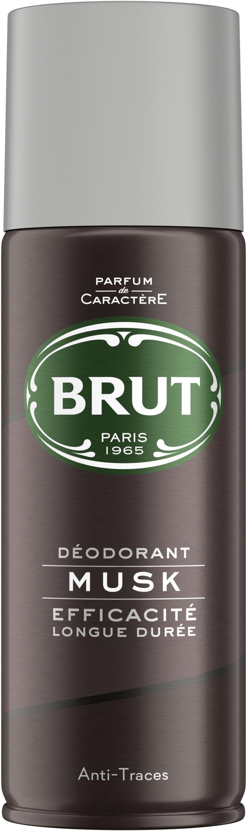 Brut Déodorant Homme Spray Musk - Product - fr