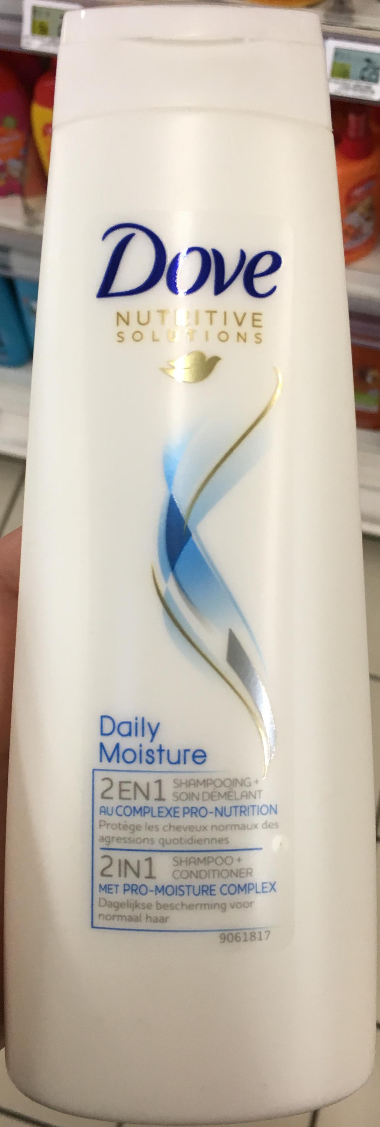 Nutritive Solutions Daily Moisture 2 en 1 Shampooing + Soin démêlant - Produit