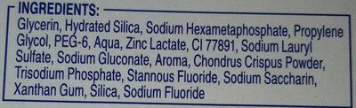 Pro-Expert Intense - Ingredients