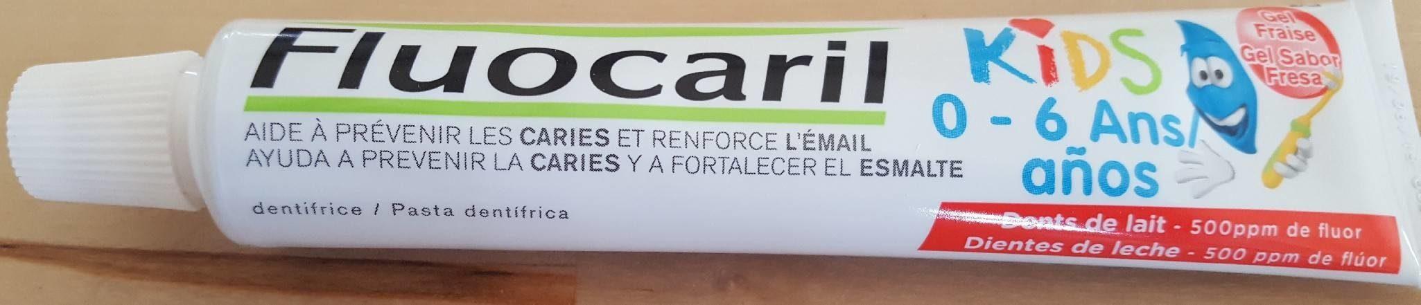 Fluocaril Kids 0 / 6 Ans Gel Fraise 50ML - Product - fr