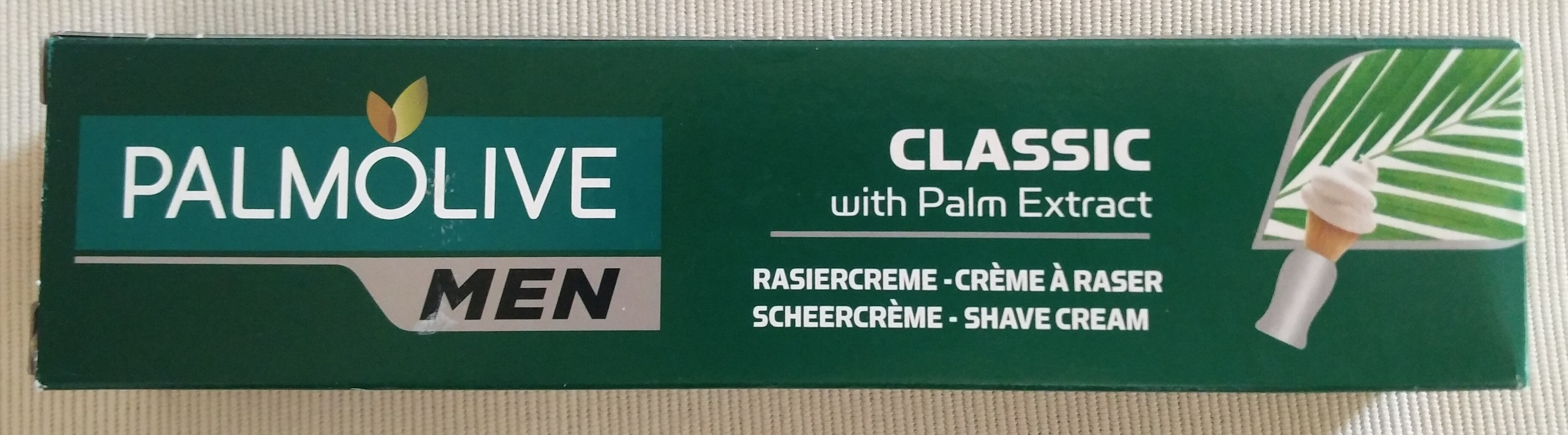 Rasiercreme Classic (with Palm Extract) - Продукт - de