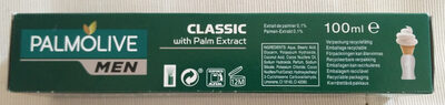 Rasiercreme Classic (with Palm Extract) - Product - en