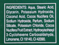 Rasiercreme Classic (with Palm Extract) - Ingredients - de
