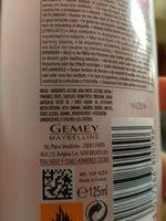 Dissolvant express manucure - Ingredients
