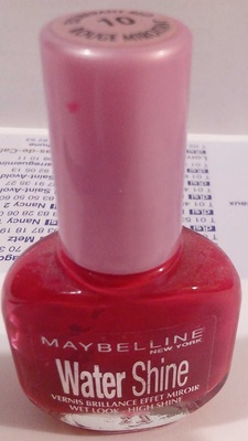 Water Shine - 10 rouge miroitant - Produit