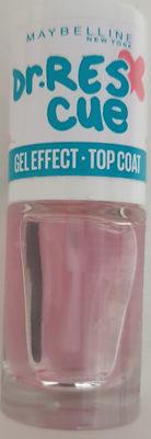 Dr. Res cue gel effect top coat - Produit - de
