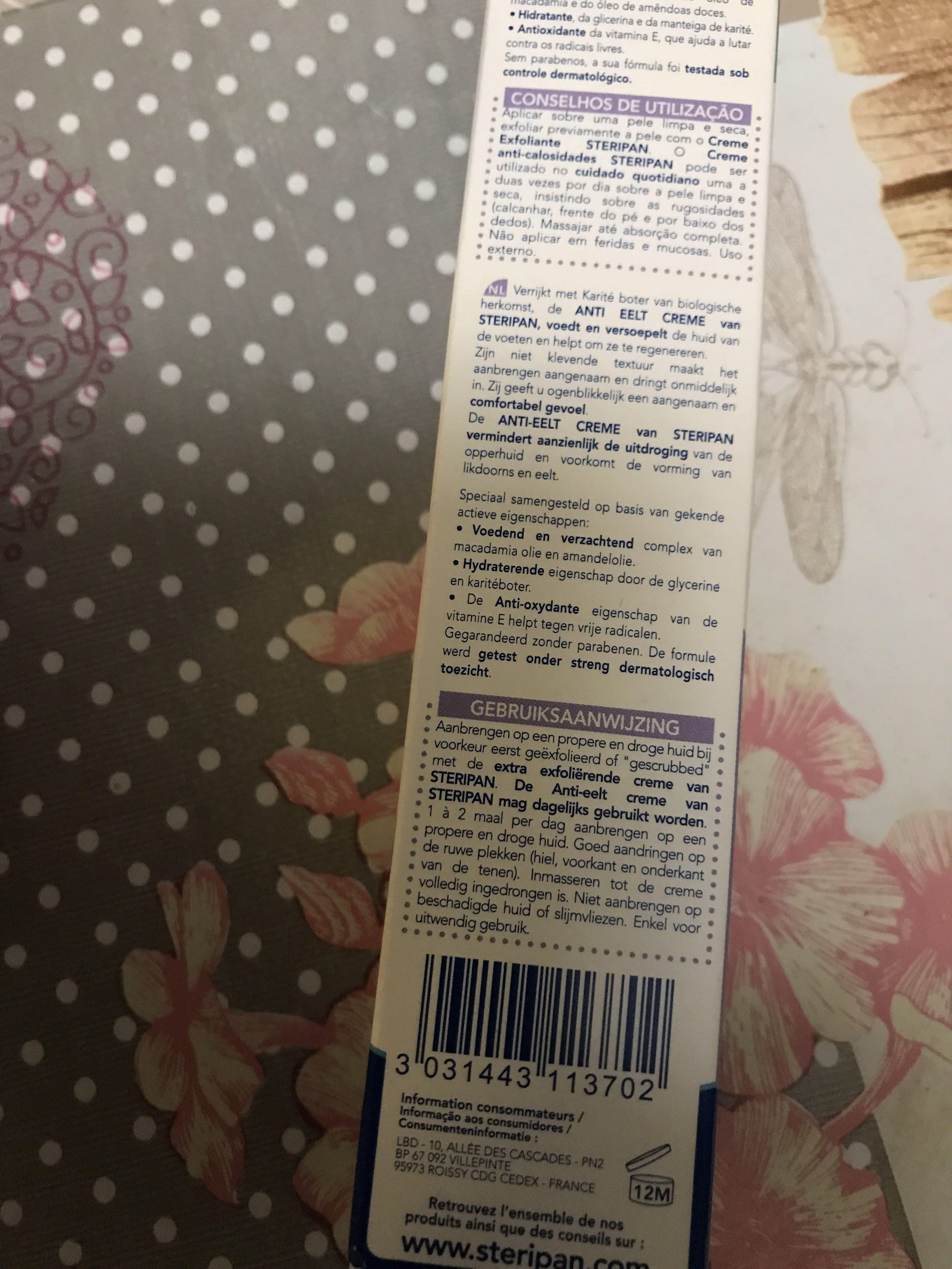 Cremedterioan anti calosofades - Product - fr