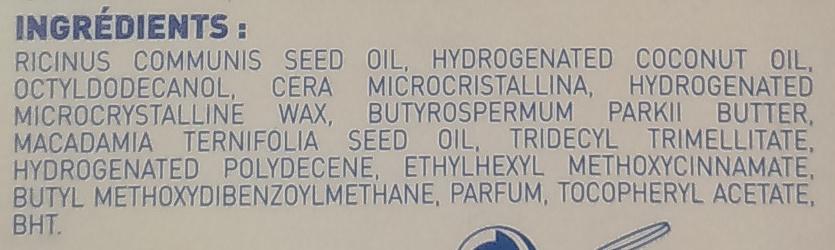 Soin des lèvres hydra - Ingredients