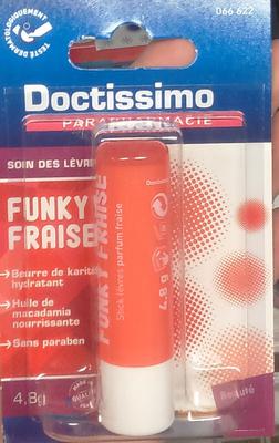 Soin des lèvres Funky fraise - Produit - fr