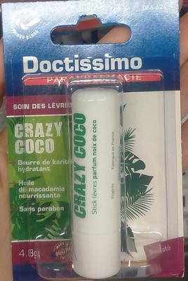Soin des lèvres Crazy coco - Product