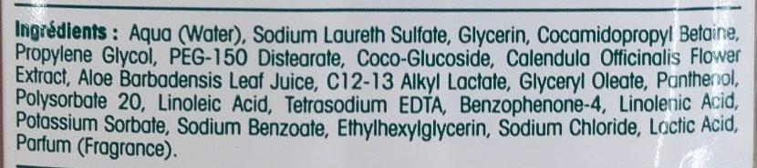 Savon liquide antibactérien surgras - Ingredients - fr