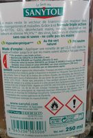 Gel Mains Désinfectant Thé Vert - Ingredients