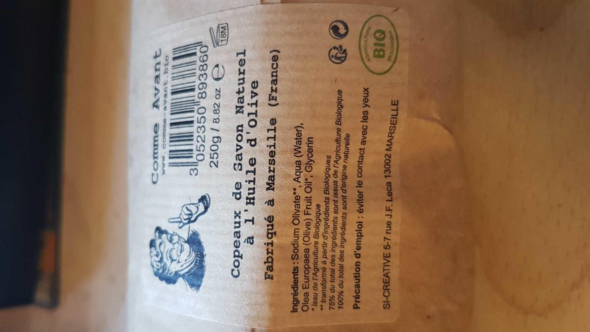 Copeaux de savon naturel a l'huile d'olive - Product - fr