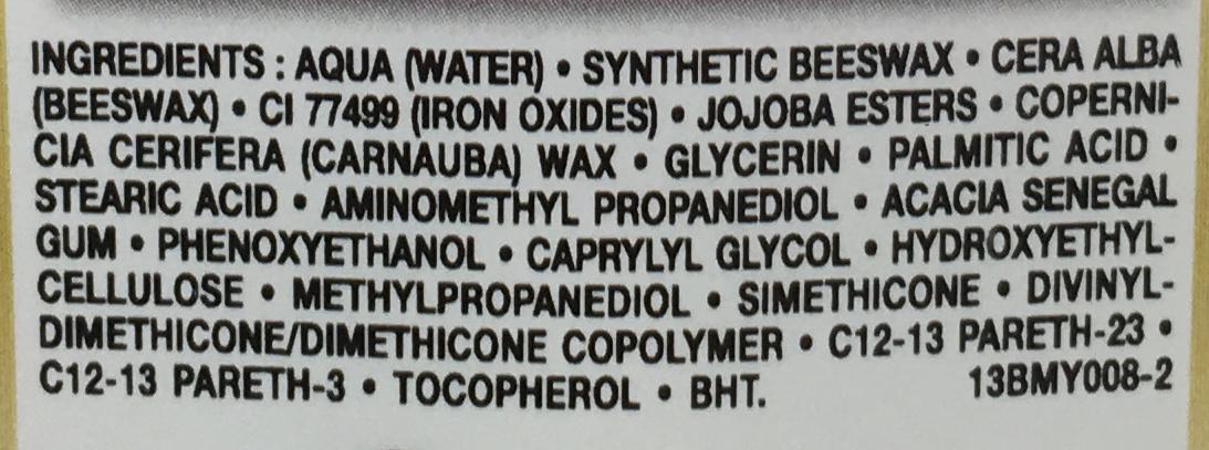 Mascara maxi volume instantané ultra black - Ingredients