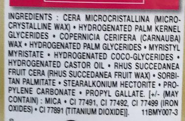 Crayon Sourcil Précision Châtain 03 - Ingredients
