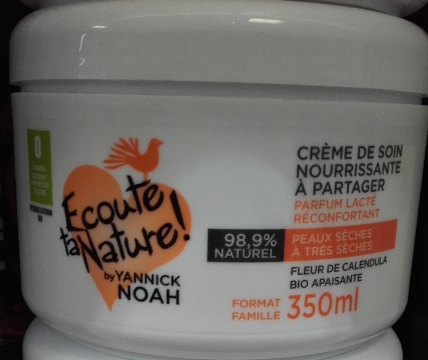 Crème de soin nourrissante à partager - Product