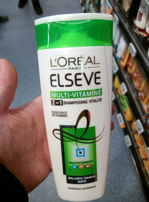 Elseve Multi-Vitaminé 2 en 1 Shampooing vitalité - 2