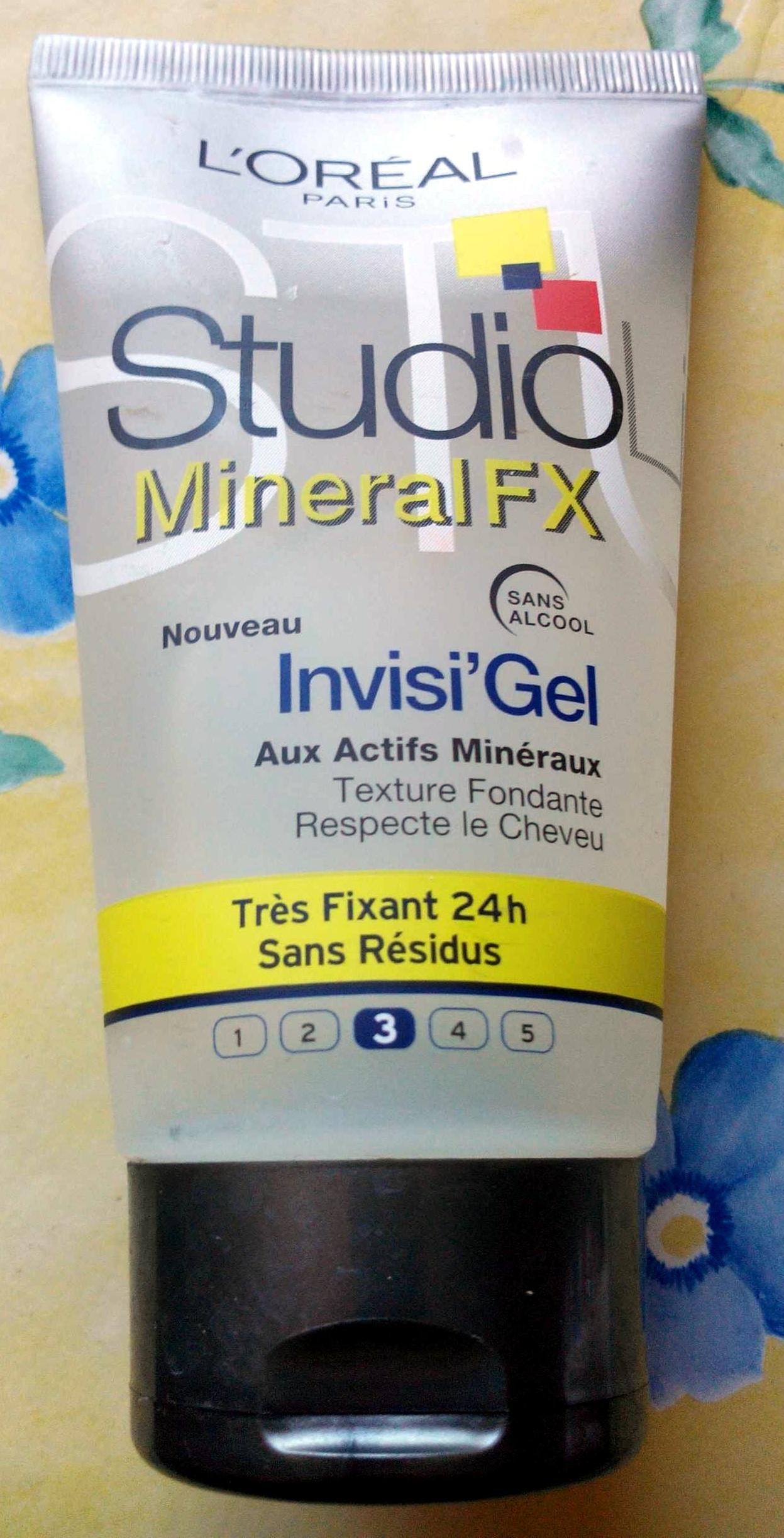 Invisi'Gel aux actifs minéraux - Produit