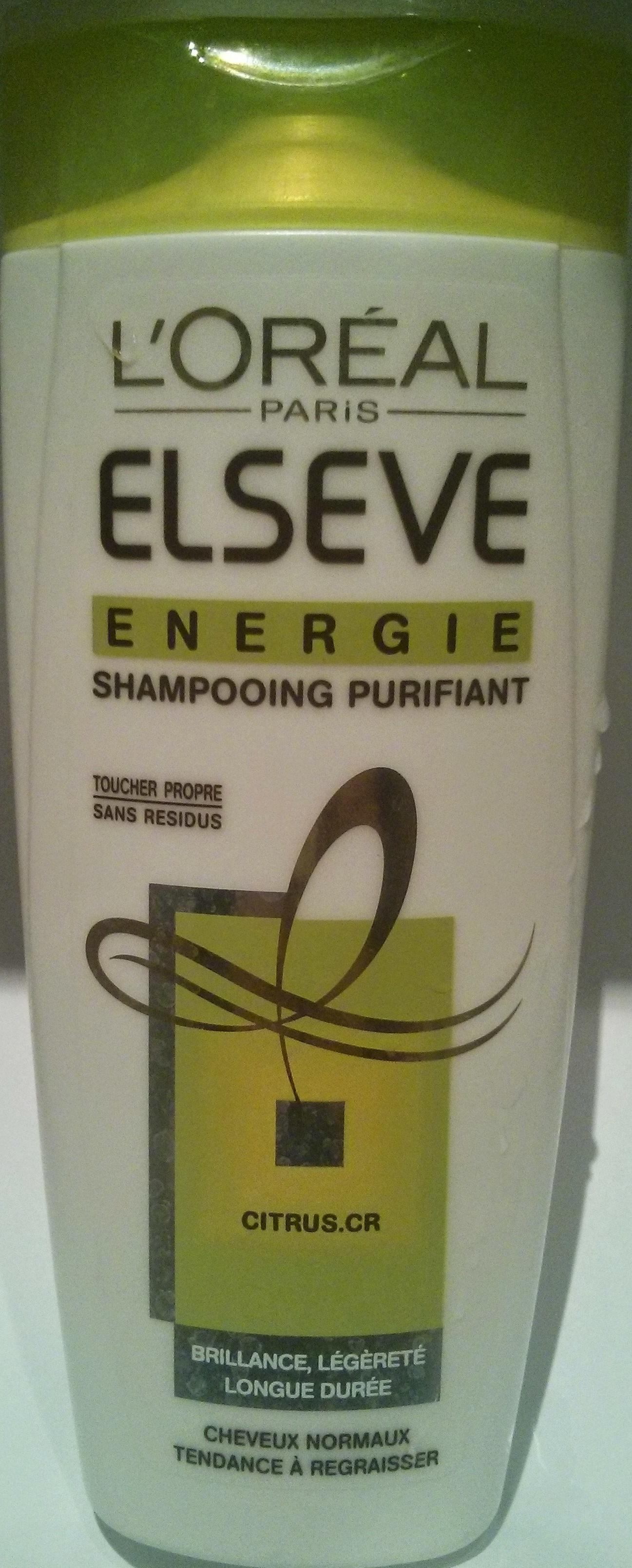 Elseve energie shampooing purifiant - Produit - fr