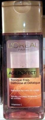 Age Perfect Tonique Frais Peaux Matures - Produit - fr